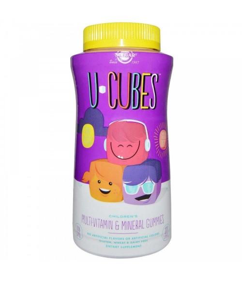 Жевательный витамин С - Solgar U-Cubes Children's Vitamin C, 90 жевательных конфет
