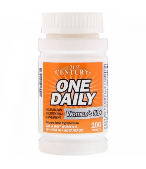 Мультивитамины для женщин - 21st Century One Daily, 100 таблеток