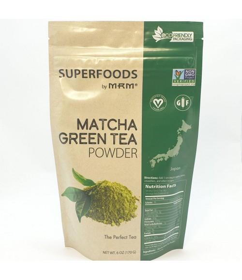 Матча - Superfoods by MRM Matcha Green Tea Powder, 170 г