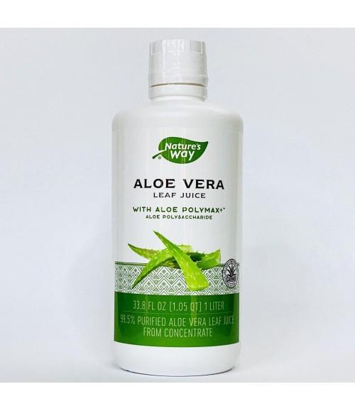 Сок листьев алоэ вера - Nature's Way Aloe Vera Leaf Juice, 1 л