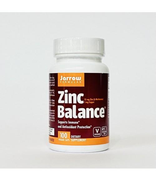 Цинк - Jarrow Formulas Zinc Balance, 100 капсул
