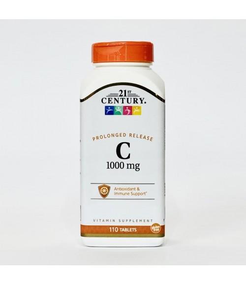 Витамин С - 21st Century 1000 мг, 110 таблеток