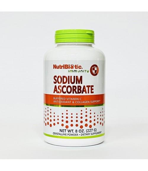 Аскорбат Натрия - NutriBiotic Sodium Ascorbate, 227 г
