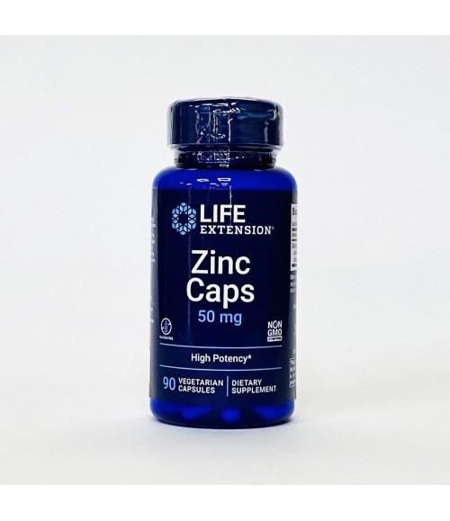 Цинк - Life Extension Zinc Caps, 90 таблеток