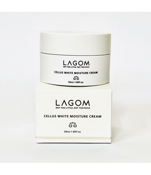 Крем для лица – Lagom Cellus White Moisture Cream, 50 мл