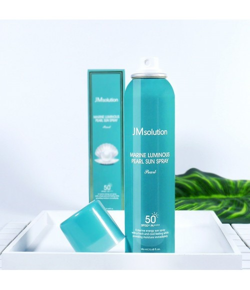 Солнцезащитный спрей - JMsolution Marine Luminous Pearl Sun Spray Pearl SPF50+ PA++++, 180 мл