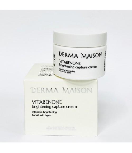 Витаминный крем - Medi-Peel Derma Maison Vitabenone Brightening Cream, 50 мл