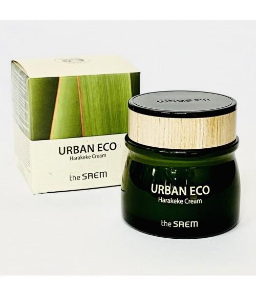 Глубоко увлажняющий крем для сухой, обезвоженой дермы - The Saem Urban Eco Harakeke Cream, 60 мл
