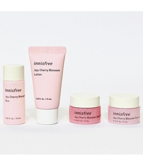 Набор для ухода за лицом - Innisfree Jeju Cherry Blossom Special Kit