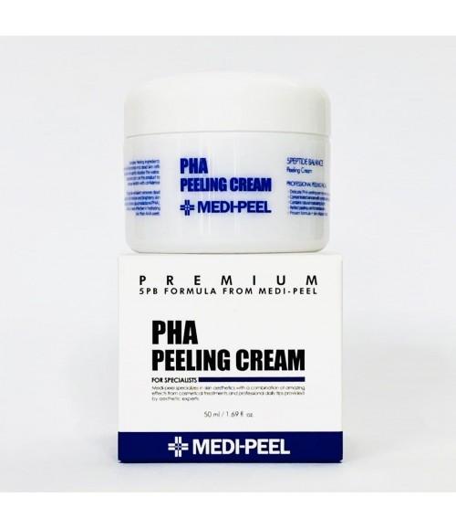 Ночной обновляющий пилинг-крем с PHA-кислотами - Medi-Peel PHA Peeling Cream, 50 мл