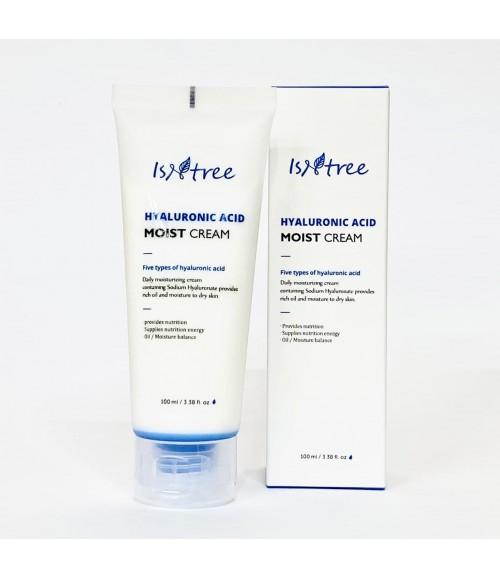 Крем с гиалуроновой кислотой - Isntree Hyaluronic Acid Moist Cream, 100 мл