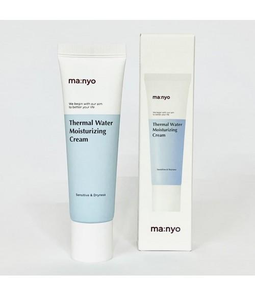Минеральный крем с термальной водой -  Manyo Factory Thermal Water Moisturizing Cream, 50 мл
