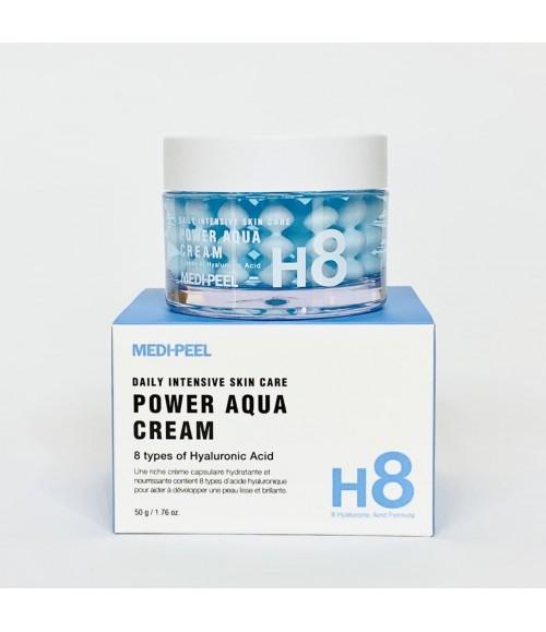 Гелевый крем в шариках спасение для сухой, обезвоженной, дряблой кожи - Medi-Peel Power Aqua Cream, 50 г