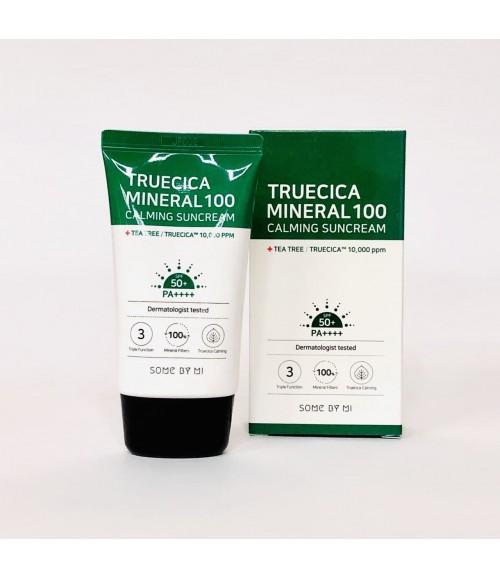 Солнцезащитный крем - Some By Mi TrueCica Mineral  100 Calming Sunсream SPF50+, 50 мл