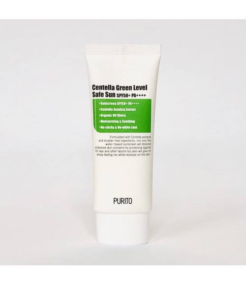 Солнцезащитный крем - Purito Centella Green Level Safe Sun SPF50, 60 мл