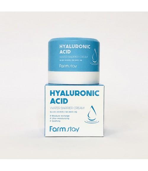 Крем для лица с гиалуроновой кислотой - FarmStay Hyaluronic Acid Water Barrier Cream, 80мл