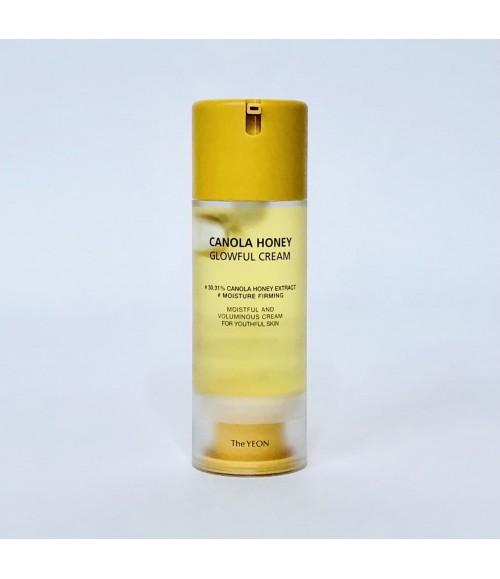Мультифункциональный крем-гель с медом канолы - The Yeon Canola Honey Glowful Cream, 100 мл