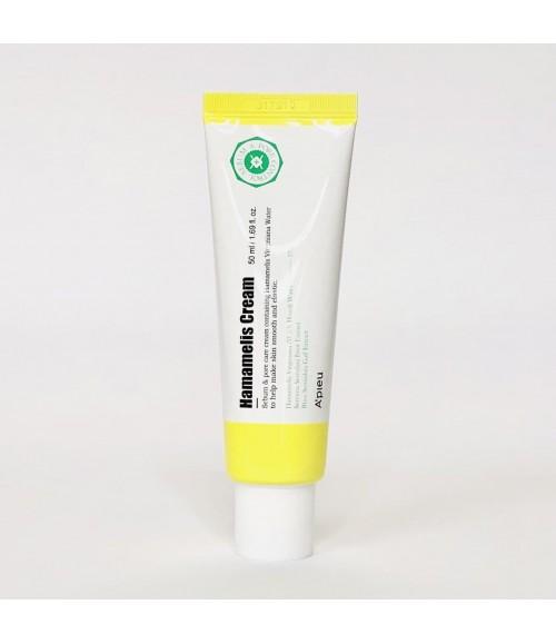 Восстанавливающий крем с экстрактом гамамелиса - A'pieu Hamamelis Cream, 50 мл