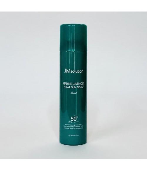 Солнцезащитный спрей - JMsolution Marine Luminous Pearl Sun Spray Pearl SPF50+ PA++++, 180 мл