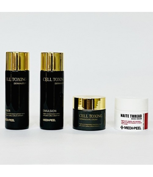 Набор миниатюр восстанавливающих и антивозрастных средств - Medi-Peel Cell Toxing Dermajours Trial Kit