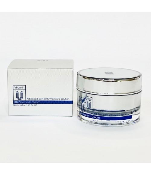 Антивозрастной крем с витамином U и пептидами - CUSKIN Vitamin U Cream, 50 мл