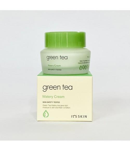 Увлажняющий крем с зеленым чаем - It's Skin Green Tea Watery Cream, 50 мл