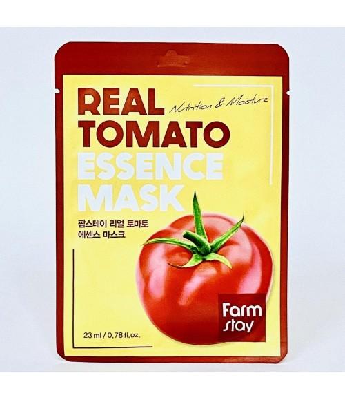 Тканевая маска с экстрактом томата - FarmStay Real Tomato Essence Mask
