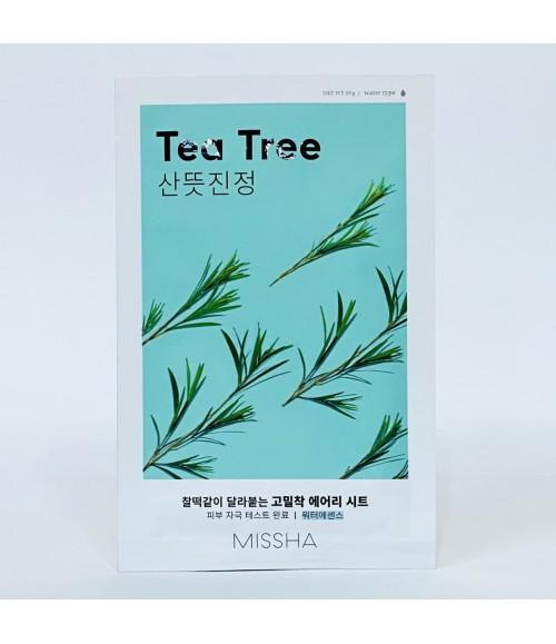 Тканевая маска для лица - Missha Tea Tree Mask Sheet, 19 грам