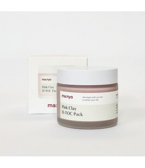 Очищающая маска - Manyo Factory Pink Clay D-TOC Pack, 75 мл