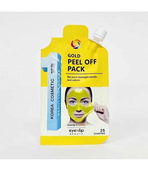 Маской-пленкой для лица с коллоидным золотом - Eyenlip Gold Peel Off Pack , 25 гр