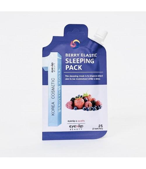Увлажняющая ночная маска с ягодами - Eyenlip Spout Pouch Berry Elastic Sleeping Pack