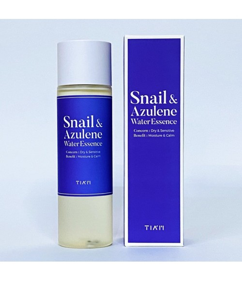 Эссенция с муцином улитки и азуленом - Snail & Azulene Water Essence, 180 мл