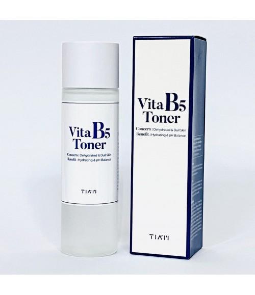 Увлажняющий тонер с витамином B5 - Tiam Vita B5 Toner, 180 мл