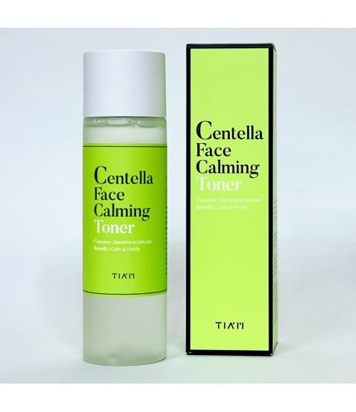 Успокаивающий тонер с центеллой азиатской - Tiam Centella Face Calming Toner, 180 мл