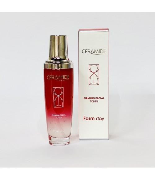 Укрепляющий тонер с керамидами - Farm Stay Ceramide Firming Facial Toner, 130 мл
