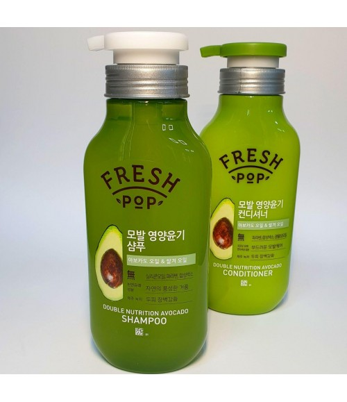 Шампунь - Fresh Pop Double Nutrition Avocado Shampoo, 500 мл