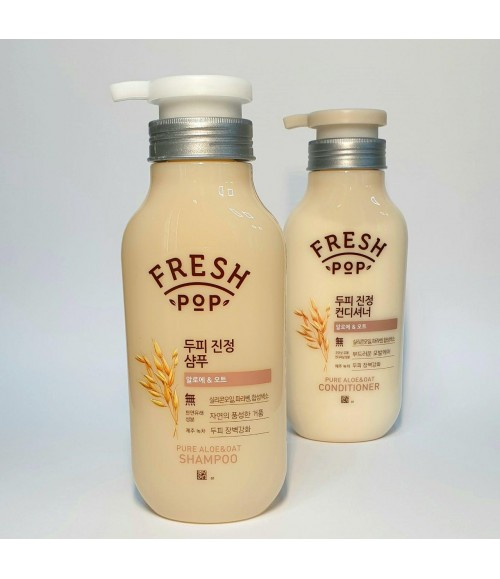 Шампунь - Fresh Pop Pure Aloe&Oat Shampoo, 500 мл