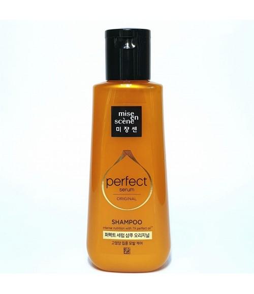 Восстанавливающий шампунь для волос - Mise En Scene Perfect Serum Shampoo, 140 мл