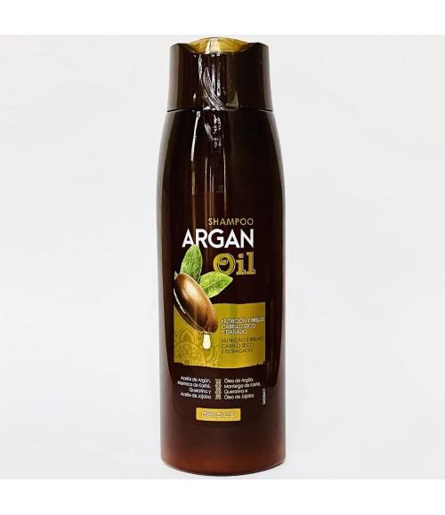 Интенсивно увлажняющий шампунь с аргановым маслом для сухих волос - deliplus Argan Oil Shampoo, 400 мл