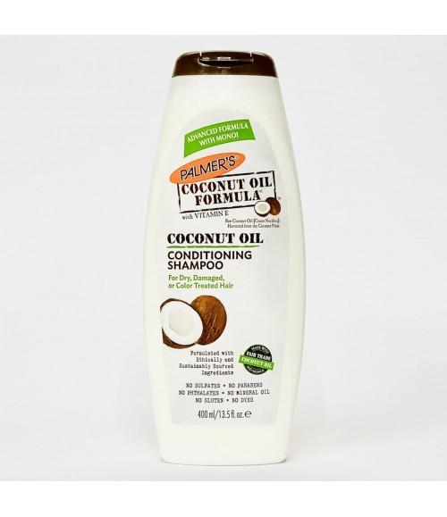 Кондиционирующий шампунь для всех типов волос с кокосовым маслом - Palmer's Coconut Oil Formula Conditioning Shampoo, 400 мл