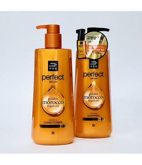 Кондиционер для волос - Mise En Scene Perfect Serum Original Rinse, 680 мл