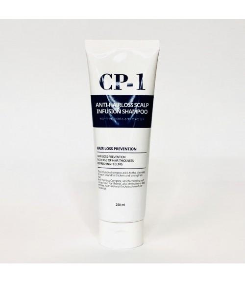 Шампунь для профилактики и лечения выпадения волос - Esthetic House CP-1 Anti-Hair Loss Scalp Infusion Shampoo, 250 мл