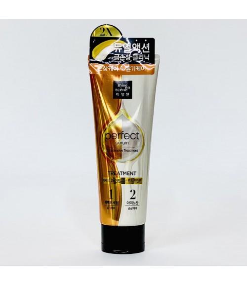 Питательная маска для волос - Mise En Scene Perfect Serum 2X Intensive Treatment, 180 мл