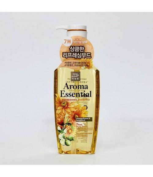 Шампунь для волос с экстрактом цветов апельчина и бергамота - Mise En Scene Aroma Essential Refreshing Shampoo Orange Flower & Bergamot, 500 мл