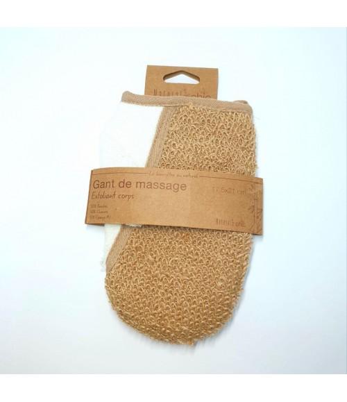 Натуральная мочалка-варежка - Natural Chic Gant De Massage