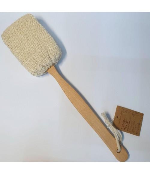 Мочалка антицеллюлитная из сизаля с деревянно ручкой - Natural Chic Eponge De Bain